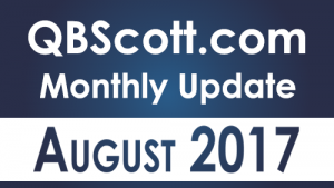 QBScott.com QuickBooks Monthly Update August 2017