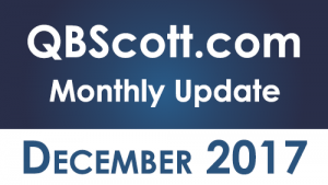 QBScott.com Monthly Update December 2017
