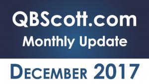 QBScott.com Monthly Update December 2017