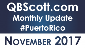QBScott.com Monthly Update November 2017