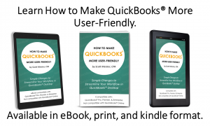 How to Make QuickBooks More User-Friendly book, eBook, and amazon kindle book